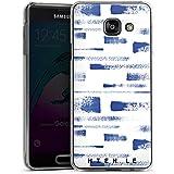Samsung Galaxy A3 (2016) Housse Étui Protection Coque HIEN LE Bleus Bleu