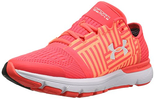 Under Armour Damen Women's Speedform Gemini 3 Running Shoes Sirens Coral (297)/London Orange, 36 M EU (Schuhe 36 M)