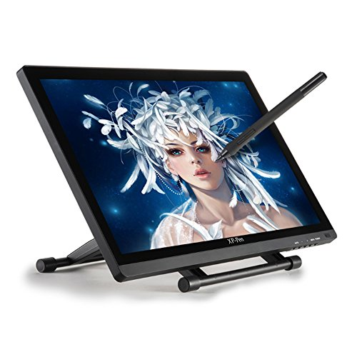 XP-Pen Artist22 22inch HD IPS Graphic Pen Display Interactive Drawing Tablet Monitor (1920x1080) Support Windows Mac with Adjustable Stand