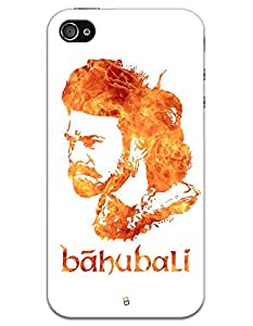 iPhone 4 / 4S Cases & Covers - Bahubali Prabhas Case by myPhoneMate - Designer Printed Hard Matte Case - Protects from Scratch and Bumps & Drops.