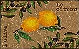 wash+dry Fußmatte Le Citron 75x120 cm