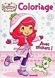 Charlotte aux Fraises - Coloriage avec stickers (Flocons)