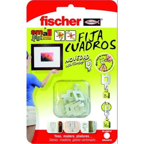 FISCHER Fijacuadros Blanco Envase 8 Ud