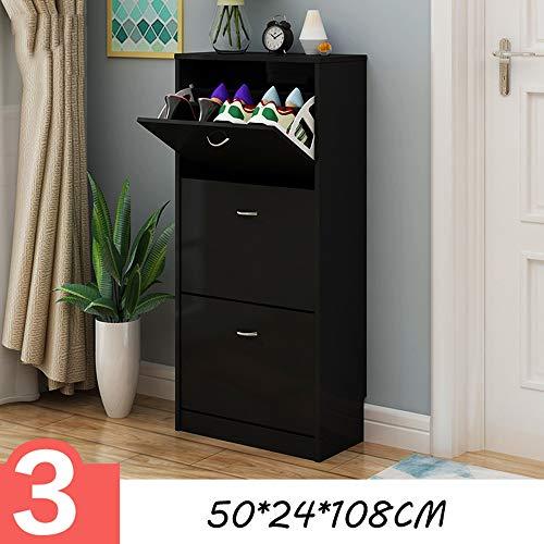 Huifang Zapatero QFFL Rack de Zapatos Slim Dumping Cabinet Cabinet Foyer Porche Cabinet Cabinet Simple...
