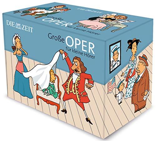 Große Oper für kleine Hörer Die ZEIT-Edition: 13 Hörspiele mit Opernmusik (Beethoven-music Box)