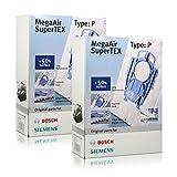 2x Bosch/Siemens MegaAir SuperTEX Type: P/Staubsaugerbeutel