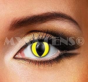 Lentilles De Contact/ De Couleur :crazy lense/oeil de chat (sans correction)