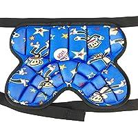 AUEDC Otective Butt Pad, Shorts Acolchados y Protectores Shorts Shorts Acolchados y Protectores Cadera para Cadera Niños y Adultos Deportes Extremos al Aire Libre,Azul,S