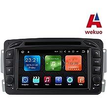 Wekuo 2G RAM Android 7.1 Coche DVD para Mercedes Benz W209 W203 W168 M ML W163