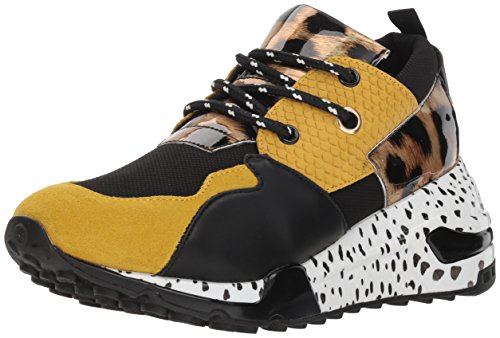 825277e3423 Steve Madden Sneakers Cliff Yellow Multy by (37.5 - Multi)