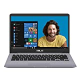 ASUS Vivobook S14 S401UA-BV664T Ultrabook 14' Gris (Intel Core i3, 4 Go de RAM, SSD 256 Go, Intel HD Graphics 620, Windows 10) Clavier AZERTY