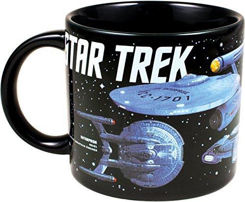 Vaisseaux spatiaux d'étoile Trek Tasse - Célébrer 50 Ans of Space Exploration