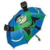 VON LILIENFELD® Regenschirm Kind Kinderschirm Junge Mädchen Motiv Superheld Hero (bis ca. 8 Jahre)