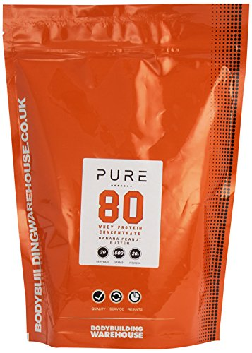 bodybuilding-warehouse-pure-whey-protein-concentrate-80-powder-banana-peanut-butter-500-g