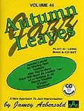 Aebersold Volume 44 - Autumn Leaves (Book & CD)