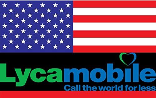 9d8c6335a2a Prepaid USA - 6 Gb de tarjeta SIM 4 G LTE - SMS, llamadas Nacional