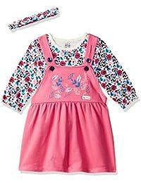 MINI KLUB Baby Girl's Cotton Clothing Set (Pack of 3)