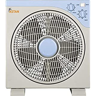 ASTAN HOGAR Box Fan Berna Standventilator, Grau, Medium