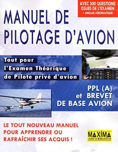 MANUEL DE PILOTAGE D'AVION par Collectif