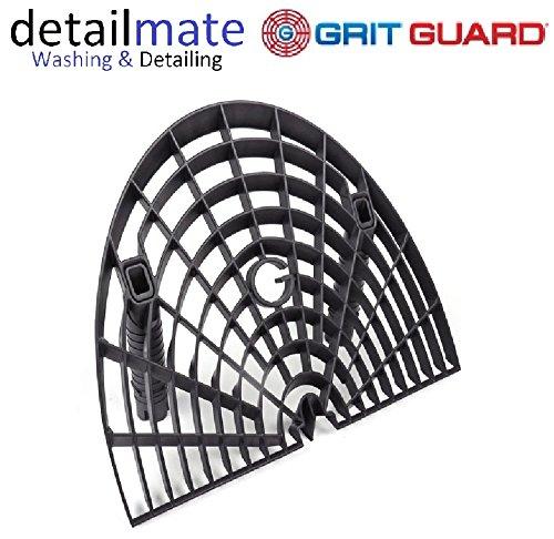 Ultra Gloss Wax (GritGuard Washboard Bucket Insert - schwarz / black - Für die kratzerfreie, schonende Autowäsche - by detailmate)