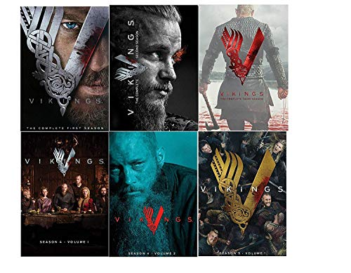 Vikings Complete Seasons 1 - 5 Band 1 DVD