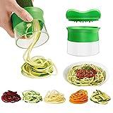 Spargelschäler, Ashleyoo Spiralschneider Set für Gemüsespaghetti Kartoffel - Zucchini Spargelschäler,...