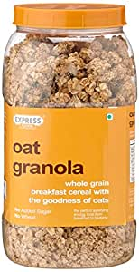 Express Foods Oat Granola Breakfast Cereal, 1kg