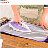 #8: Pack of 2 GutarGoo Heat Resistant Cloth Protecting Cover for Ironing Mat - protect clothes from burning