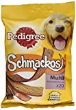 PEDIGREE SCHMACKOS MULTI - Récompense - 4 viandes - 12 sachets de 20 sticks