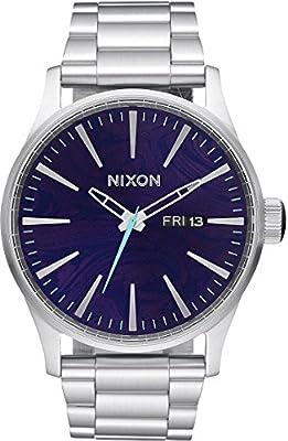 Nixon Reloj de acero inoxidable Sentry para hombre A3561 de Nixon