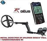 'Metalldetektor XP Xplorer Deus mit Platte 11Lite