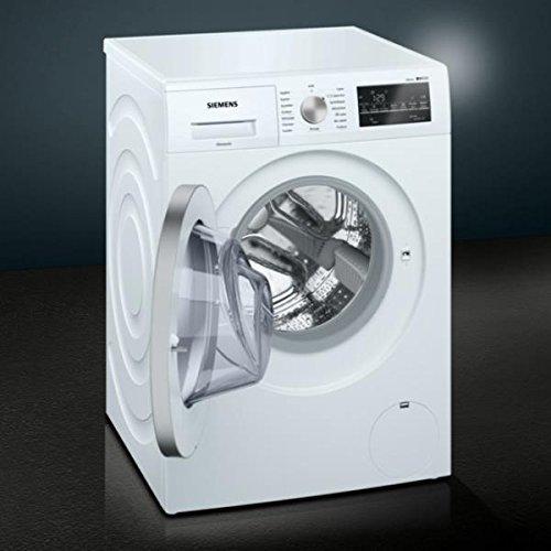 Siemens iQ500 WM14T458FF Libera installazione Carica frontale 8kg 1400Giri/min A+++-30% Bianco lavatrice