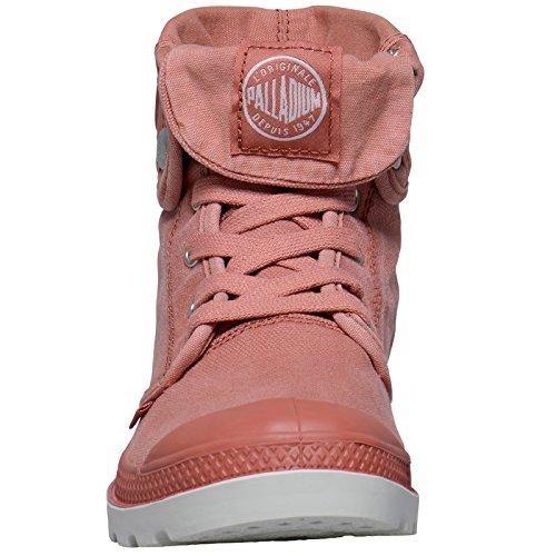 Palladium Baggy, Sneakers Basses Femme, Beige Pink (Bruschetta/silver Birch)