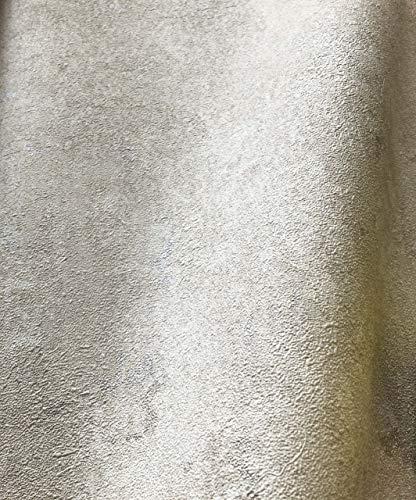 NEWROOM Tapete Beige Putz Beton Bauhaus Vliestapete Vlies moderne Design Optik Tapete Struktur Premium inkl. Tapezier Ratgeber