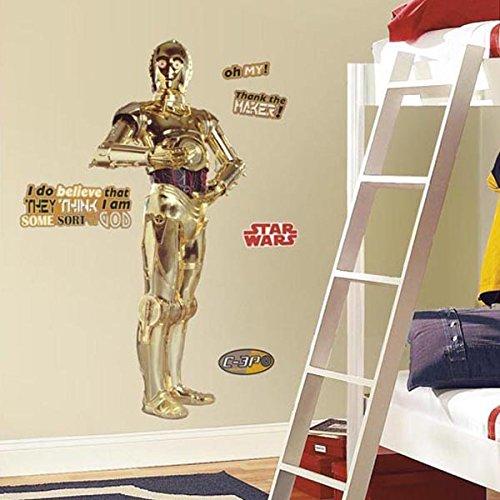 Star Wars Star Wars: C3PO BIG Wall Sticker [parallel import