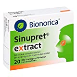 Sinupret eXtract, 20 St. Tabletten