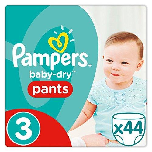 Pampers Baby Dry Pants Größe 3, Essential 44Windeln