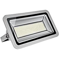 Foco LED 500W Blanco frío 6500K /Blanco cálido 3500K , Proyector LED Exteriores Floodlight Led Foco Proyector Led para Exterior Iluminación Decoración IP65 (1x, Blanco frío)