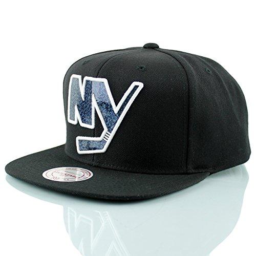 Mitchell & Ness New York Islanders Dark Hologram Snapback NHL Cap (New York Islanders-hüte)