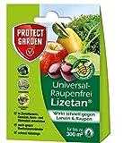 PROTECT GARDEN Lizetan Universal-Raupenfrei 9ml gegen Raupen an Zierpflanzen, Obst und Gemüse, braun