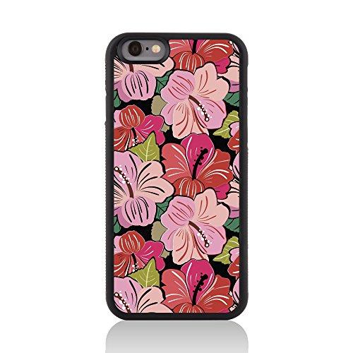 Call Candy 122-113-120 Printed Blumensammlung Jahrgang BlumenFlourish glänzendes Bild harter rückseitige 2D gedruckt Fall für Apple iPhone 6 rose