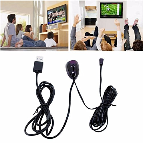 ELEGIANT Infrared Remote Control Receiver Extender Repeater Emitter USB Cable Adapter