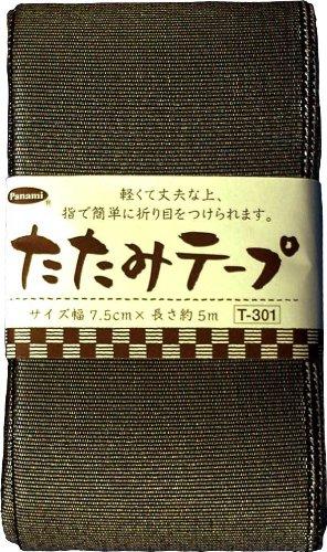 Preisvergleich Produktbild Tepurame 5m roll T-301 black lame tatami panami (japan import)