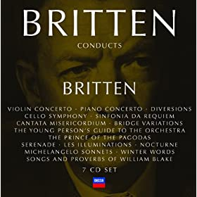 "Britten: Nocturne for tenor, 7 obligato instruments & strings, Op.60 - 4. ""Midnight's Bell Goes Ting, Ting, Ting"""