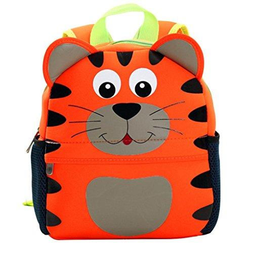 HCFKJ Schultasche, Kind Rucksack Kleinkind Kind Schultaschen Kindergarten Cartoon Schulter Bookbags (F)
