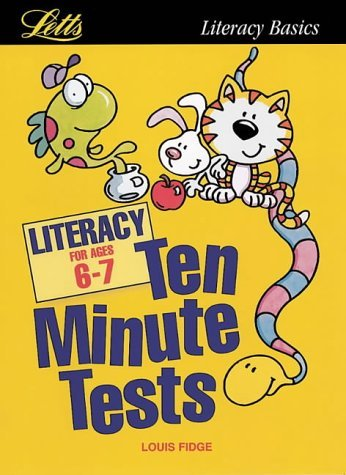 KS1 Ten Minute Tests: Literacy (ages 6-7): Age 6-7 by Fidge, Louis (January 1, 1990) Paperback
