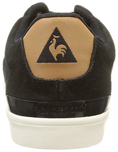 Le Coq Sportif Clubset, Sneakers Basses homme Noir (Black)