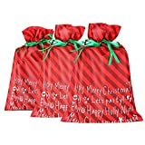 DiaryLook Christmas Holiday Gift Bags Large (3 Packs)
