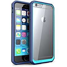 iPhone 6 Case - SUPCASE Apple iPhone 6 4.7 Case Unicorn Beetle Premium Hybrid Protective Case for iPhone 6 Air (Clear/Blue/Blue, Not Fit iPhone 6 5.5 inch PRO)