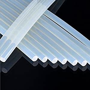 MCTECH 100 Stück (ca. 2 Kilo) DIY Heißklebesticks Klebestifte Ersatzsticks 11x200 mm Klebesticks für Heißklebepistolen (2 kg)